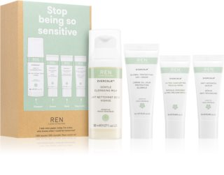 REN Evercalm Cosmetic Set (To Soothe And Strengthen Sensitive Skin)