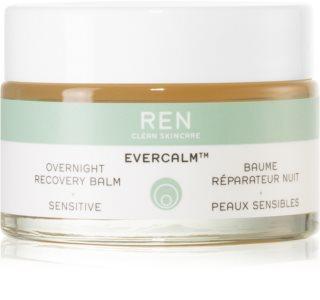 REN Evercalm bálsamo restaurador de noite para pele sensível