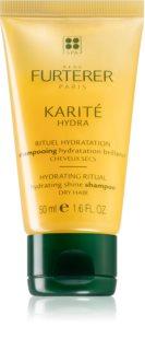 René Furterer Karité Hydra хидратиращ шампоан за блясък за суха и крехка коса