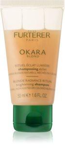 René Furterer Okara Blond rozjasňujúci šampón pre blond a melírované vlasy