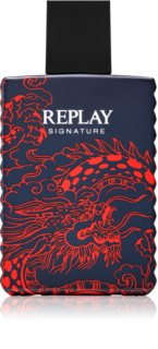 Replay Signature Red Dragon For Man Eau de Toilette für Herren