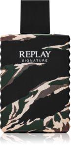 Replay Signature For Him Eau de Toilette Miehille