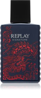 Replay Signature Red Dragon eau de toilette pentru bărbați