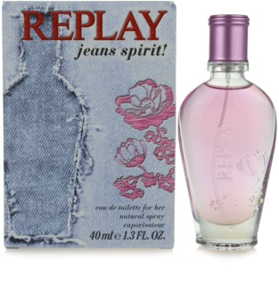 Replay Jeans Spirit! For Her Eau de Toilette för Kvinnor