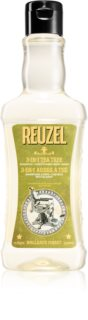 Reuzel Tea Tree 3 in1 Shampoo, Conditioner & Body Wash for Men