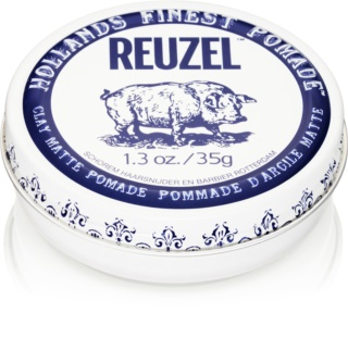 Reuzel Hollands Finest Pomade Clay modellierende Paste mit Matt-Effekt
