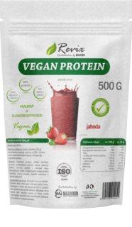 Revix Vegan protein veganský protein  strawberry