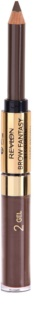 Revlon Cosmetics Brow Fantasy Eyebrow Pencil and Gel 2 in 1