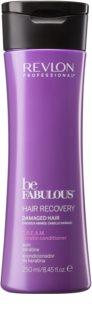 Revlon Professional Be Fabulous Hair Recovery après-shampoing crème pour cheveux très secs à la kératine
