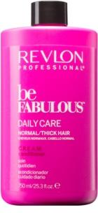 Revlon Professional Be Fabulous Daily Care balzam za normalne do goste lase