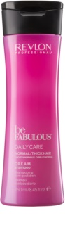Revlon Professional Be Fabulous Daily Care feuchtigkeitsspendendes und revitalisierendes Shampoo