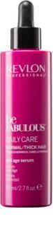 Revlon Professional Be Fabulous Daily Care Feuchtigkeit spendendes und aufhellendes Serum gegen Alterungszeichen der Haare