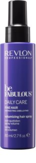 Revlon Professional Be Fabulous Daily Care spray para dar volume aos cabelos finos