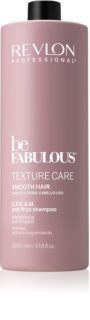 Revlon Professional Be Fabulous Texture Care Smoothing Shampoo For Unruly And Frizzy Hair