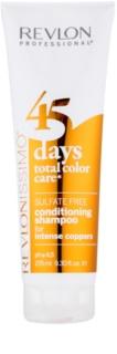 Revlon Professional Revlonissimo Color Care Shampoo en Conditioner 2in1 voor Koper Tint
