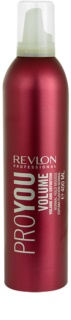 Revlon Professional Pro You Volume fissante in mousse per un fissaggio normale