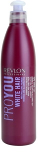 Revlon Professional Pro You White Hair Shampoo  voor Blond en Grijs Haar