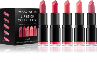 Revolution PRO Lipstick Collection conjunto de batons 5 pçs