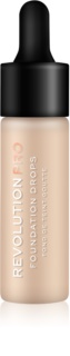 Revolution PRO Foundation Drops Liquid Foundation With Pipette