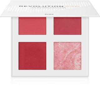 Revolution PRO 4K Blush Palette arcpirosító paletta