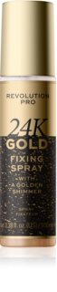 Revolution PRO 24k Gold Verhelderende Make-up fixer  met Goud