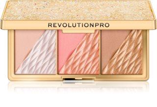 Revolution PRO Crystal Luxe Palette für das komplette Gesicht