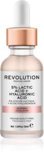 Revolution Skincare 5% Lactic Acid + Hyaluronic Acid pleťový peeling
