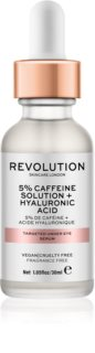 Revolution Skincare 5% Caffeine solution + Hyaluronic Acid Serum für den Augenbereich