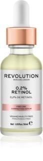 Revolution Skincare 0.2% Retinol Serum zur Korrektur feiner Falten