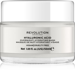 Revolution Skincare Hyaluronic Acid Overnight Moisturizing Mask for Face