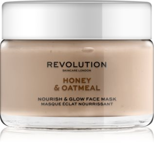 Revolution Skincare Honey & Oatmeal máscara facial radiance