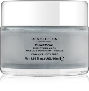 Revolution Skincare Purifying Charcoal καθαριστική μάσκα προσώπου