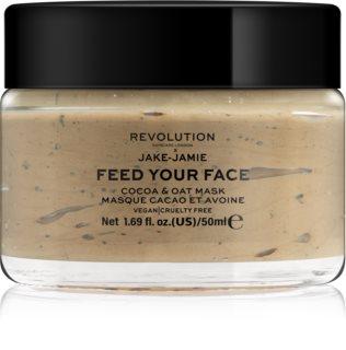 Revolution Skincare X Jake-Jamie Cocoa & Oat máscara facial hidratante