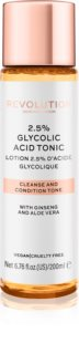 Revolution Skincare 2,5% Glycolic Acid Tonic lotion tonique visage avec AHA Acids