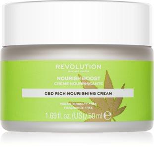 Revolution Skincare Nourish Boost έξτρα θρεπτική κρέμα προσώπου για ξηρή επιδερμίδα