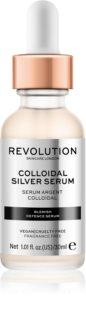 Revolution Skincare Colloidal Silver Serum aktív szérum az arckontúrok kisimulásáért antibakteriális adalékkal