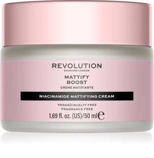 Revolution Skincare Niacinamide Mattify Boost ματ κρέμα ημέρας