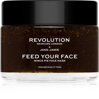 Revolution Skincare X Jake-Jamie Mince Pie hloubkově hydratační maska