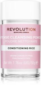 Revolution Skincare Conditioning Rice jemný čisticí pudr