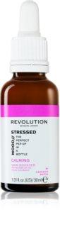 Revolution Skincare Stressed Mood erneuernder Booster für die Gesichtshaut für empfindliche und gerötete Haut