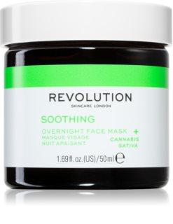 Revolution Skincare Angry Mood antioxidačná chladivá maska na tvár
