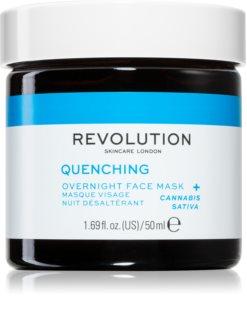 Revolution Skincare Thirsty Mood intensive Nacht-Maske für schnelle Regeneration trockener und dehydrierter Haut