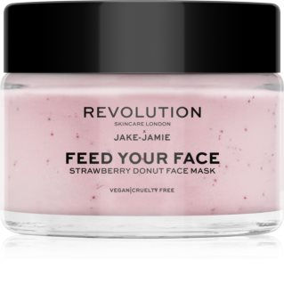 Revolution Skincare X Jake-Jamie Strawberry Donut Deeply Moisturising Face Mask With Aromas Of Strawberries
