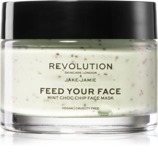 Revolution Skincare X Jake-Jamie Mint Choc Chip Refreshing and Soothing Face Mask With Peppermint
