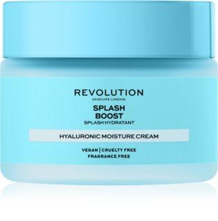 Revolution Skincare Boost Hyaluronic Acid Splash intenzívne hydratačný krém s kyselinou hyalurónovou
