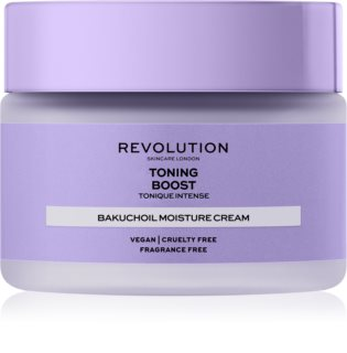 Revolution Skincare Boost Toning Bakuchiol Soothing And Moisturizing Cream