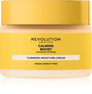 Revolution Skincare Boost Calming Turmeric антиоксидантен крем за лице