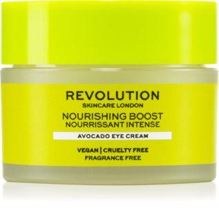 Revolution Skincare Boost Nourishing Avocado питательный крем для кожи вокруг глаз