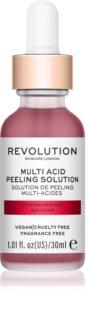 Revolution Skincare Multi Acid peeling de curățare profundă Cu AHA Acizi