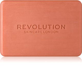 Revolution Skincare Pink Clay sabonete de limpeza para o rosto com argila
